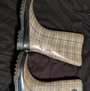 Women's Sperry top sider rain boots size 9